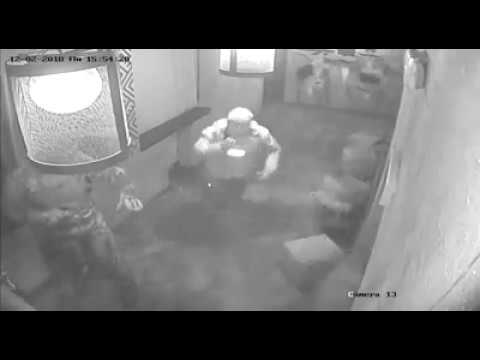 Задержание Саакашвили в ресторане Сулугуни Камера наблюдения (видео)