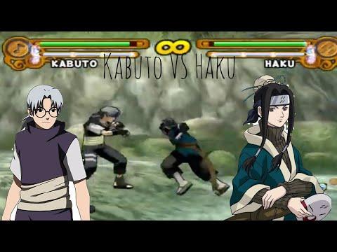 Haku vs Kabuto naruto ultimate ninja 3