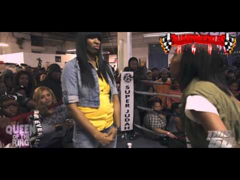 QB_BLACKDIAMOND SPEAKS ON HER BATTLE WITH JAZ THE RAPPER! [BLUUDYNUCKLES]