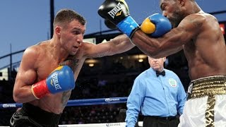 Vasyl Lomachenko vs Gary Russell Jr.----------One of the judge score the fight 114-114... I think its because Russell Jr. threw a lot of punches and he keep attacking. But the most of his punches does not even landed... Soundtrack: Partner in rhymes - Battlefield Orchestra - JustifiedЛомаченко