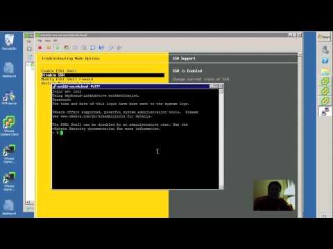 ¿Cómo cambiar el timeout en SSH en VMware vSphere ESXi?