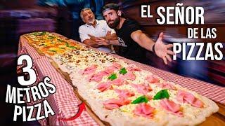 ME ENFRENTO A 3 METROS DE PIZZA DEL SEÑOR DE LAS PIZZAS *el reto más difícil*