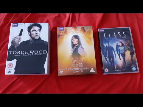 Unboxing Torchwood & The Sarah Jane Adventures The Complete Series and Class: Series One DVD Boxsets