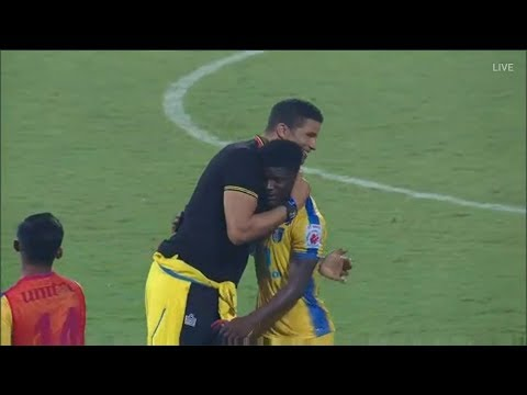 ISL 2017-18 | Kerala Blasters vs Mumbai city FC Match Highlights | Live  taken From Mumbai
