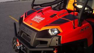3. 2011 Polaris Ranger 800XP LE Orange Madness