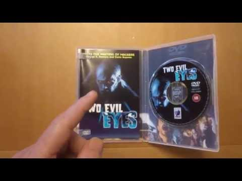 Late Night Viewing TWO EVIL EYES Dvd