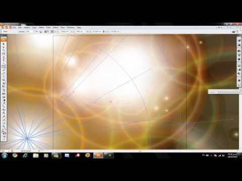 Como hacer el efecto de destello de luz en Adobe Illustrator CS3
