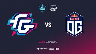 Forward Gaming vs OG, ESL One Katowice 2019, bo2, game 1, [Adekvat]