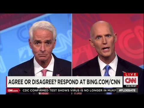 Scott - Watch how Rick Scott dodges the question on his most solemn duty as governor.