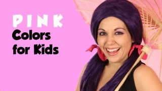 Learn Colors with Tayla, Color Pink
