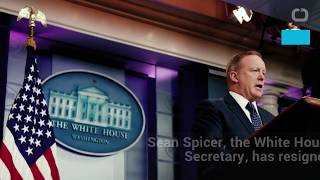 White House press secretary Sean Spicer, President Donald Trump's embattled spokesman during the first six months of his ...