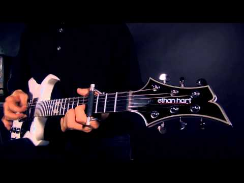 Glider Capo - Clean Electric Guitar Capo Demo