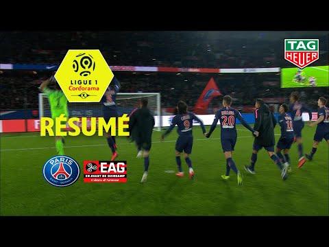 Paris Saint-Germain - EA Guingamp ( 9-0 ) - Résumé - (PARIS - EAG) / 2018-19