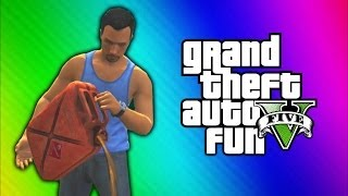 GTA 5 Funny Moments - Car Explosion
