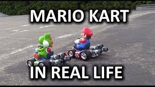 Real Life Mario Kart R/C Race