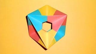 Игрушка вертушка, юла, волчок из бумаги Поделки оригами