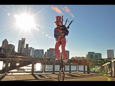 Happy Independence Day from the Unipiper