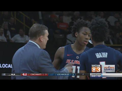 LIVE Big 10 Tournament, Illinois vs. Iowa Pregame