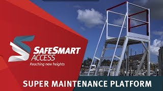 One of SafeSmart's most popular work platforms – easy to assemble and suitable for a variety of MRO activities.