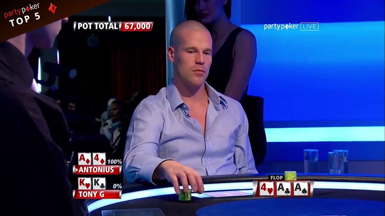 Top 5 EPIC Flops   Poker Legends - YouTube