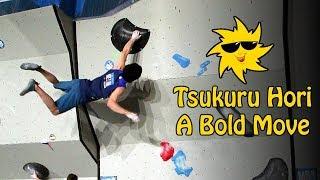 Tsukuru Hori, A Bold Move | Sunday Sends by OnBouldering