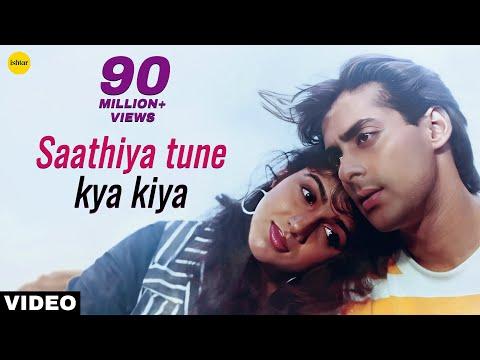 Video Saathiya Tune Kya Kiya Full Video Song | Love | Salman Khan, Revathi Menon | S P Balasubramaniam download in MP3, 3GP, MP4, WEBM, AVI, FLV January 2017