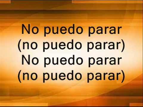 Marcos Barrientos  No Puedo Parar Letra