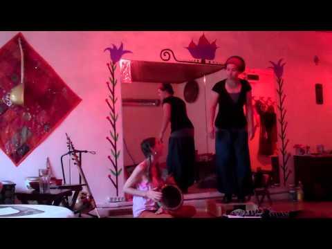 Darbuka and Percussive Dance Duet by Raquy Danziger and Ariel Hyatt