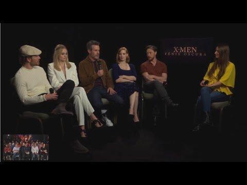 X-Men: Fénix Oscura - Rueda de Prensa?>