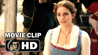 BEAUTY AND THE BEAST Movie Clip  Bonjour Belle + Trailer 2017 Emma Watson Disney Movie HD