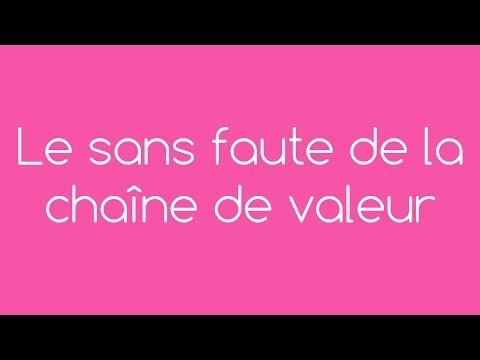 Vidéo sur Le sans faute de la chaîne de valeur