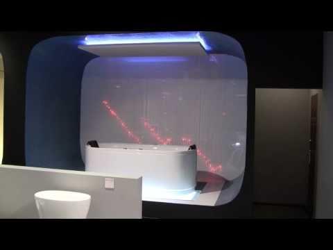 Zestaw Kryształowe Kule - Lampy Światłowodowe, inspiracje oświetleniowe w łazience, projekt nowoczesnej łazienki