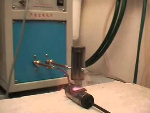 Индукционная пайка трубы из нержавеющей стали