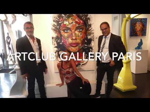 2017 Solo Exhibition Esther Barend ArtClub Gallery Paris France