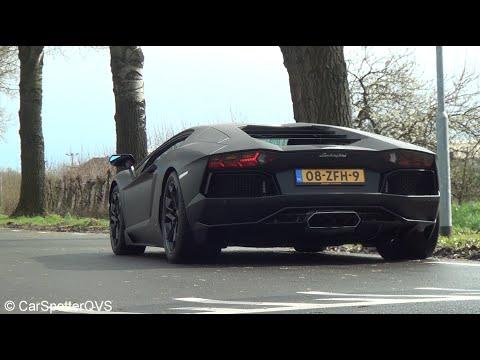 Dutch Lamborghini Aventador with super exhaust