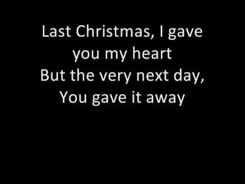 , title : 'Wham - Last Christmas (with lyrics :D)'