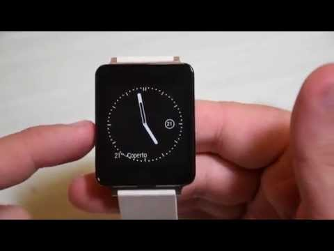 Recensione LG G Watch ed Android Wear