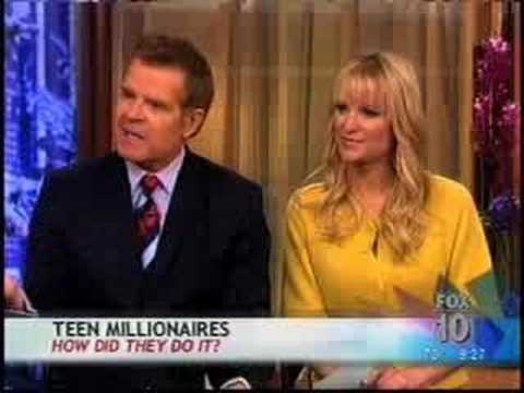 Millionaire - http://www.cameronjohnson.com Cameron Johnson is on The Morning Show with Mike & Juliet on FOX, sharing secrets from his book on entrepreneurship, You Call t...
