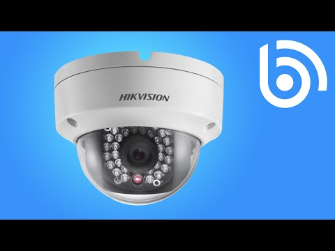 How to change password on a Hikvision IP camera