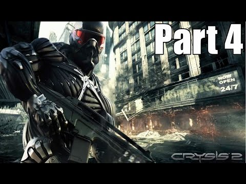 Crysis 2 Walkthrough Gameplay Part 4 Sudden Impact (No Commentary)