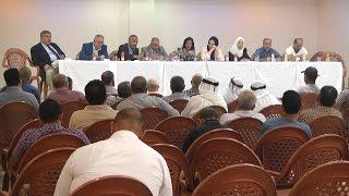 أعضاء من المجلس التشريعي يعقدون إجتماعاً لبحث مشروع سند