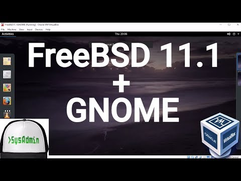 Video FreeBSD 11.1 Installation + GNOME Desktop + Apps + Guest Additions on Oracle VirtualBox [2017] download in MP3, 3GP, MP4, WEBM, AVI, FLV January 2017