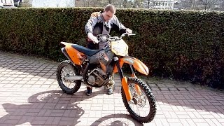 9. 2007 KTM 250 SX-F - First start up after winter
