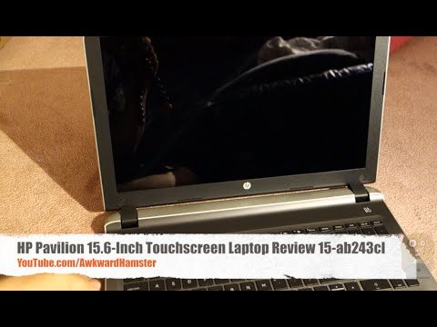 "HP Pavilion 15.6"" Inch Touchscreen Laptop Review 15-ab243cl"