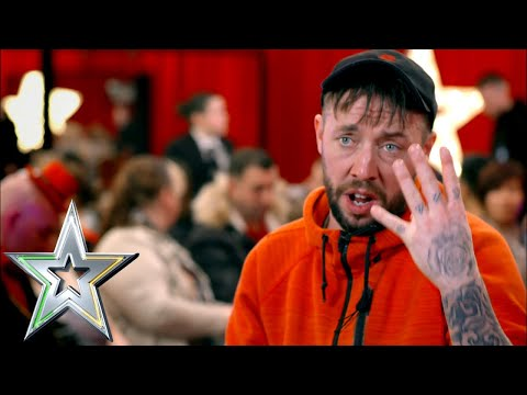 The one and only MC Daycent has the judges giggling with unique rap   Ireland's Got Talent 2019