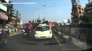 Ernakulam India  city pictures gallery : Vyttila Traffic Signal - Ernakulam \ Cochin \ Kochi - Kerala - India