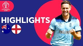 Woakes & Roy Send England To Final! | Australia vs England - Highlights | ICC Cricket World Cup 2019