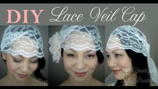 DIY Wedding Veil : Lace Cap {CATHY}