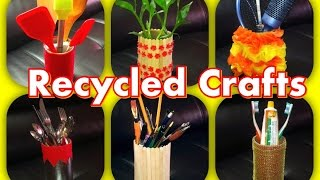 Organize Home With Recycled Crafts HC#22