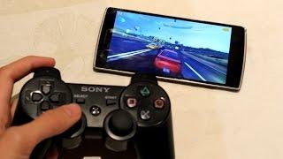 Como conectar el mando de PS3 y PS4 como GamePad en Android